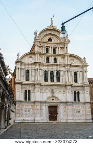 Church Of San Zaccaria Is A 15Th-century Former Monastic Church In Central Venice, Italy