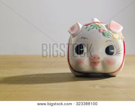 cute baby piggy bank financial item