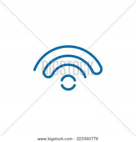 Wifi. Wifi icon. Wifi vector. Wifi icon vector. Wifi logo. Wifi symbol. Wifi vector icon. Wifi icon isolated flat on white background. Wifi icon simple sign for logo, web, app, UI. Wifi icon flat vector illustration, EPS10.