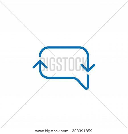 Chat. Chatting icon. Chat icon. Chat vector. Chat icon vector. Chat logo. Chat symbol. Chat web icon. Chatting vector. Chat icon isolated flat on white background. Chat icon simple sign for logo, web, app, UI. Chat icon flat vector illustration, EPS10.