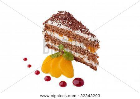 Sweet Cake With Mango