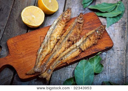 Baked Fish With Lemon