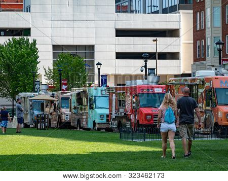 Food Trucks In The City