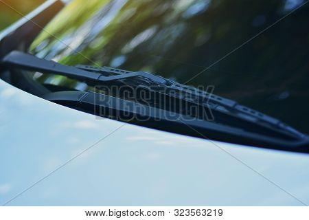 Car Wiper For Cleaning Glass Design, Wiper, Car, Blade, Service, Maintenance, Windscreen,