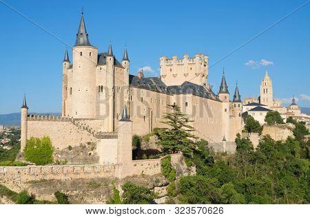 Alcazar of Segovia, Castilla Leon in Spain.