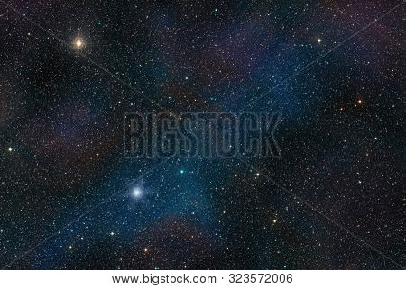 Star field outer space background texture. Interstellar cosmic concept