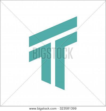Initials T Letter Logo Vector ,tt Letter Vector Logo Designs