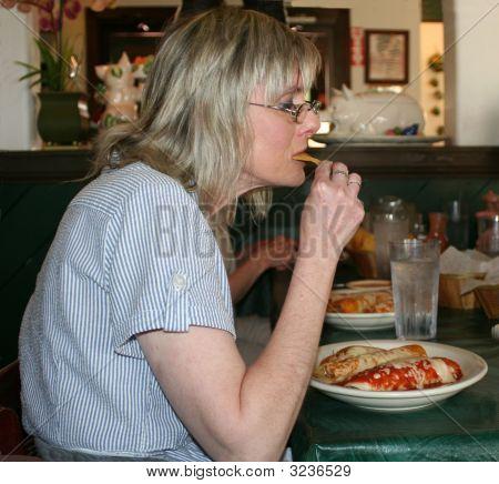 Debbie Eating