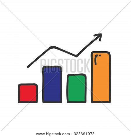 Growth Editable Icon Filled And Outline: Money Growth, Graph, Dollar Growth, Ticket On Sale, Sale, S