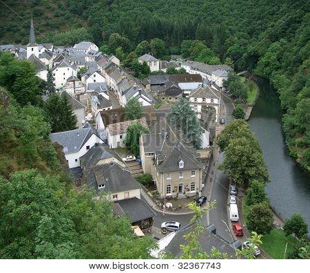 Aerial View Of Esch-sur-sure