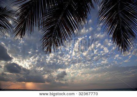 Sunset Over Grace Bay