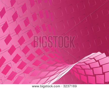 Hot Pink Abstract Background