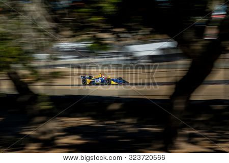 September 21, 2019 - Salinas, California, USA: ALEXANDER ROSSI (27) of the United States  practices for the Firestone Grand Prix of Monterey at Weathertech Raceway Laguna Seca in Salinas, California.