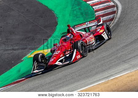September 20, 2019 - Salinas, California, USA: ED JONES (20) Of the United Arab Emirates   practices for the Firestone Grand Prix of Monterey at Weathertech Raceway Laguna Seca in Salinas, California.
