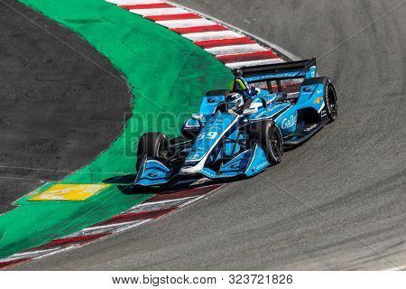 September 20, 2019 - Salinas, California, USA: MAX CHILTON (59) of Reigate England   practices for the Firestone Grand Prix of Monterey at Weathertech Raceway Laguna Seca in Salinas, California.