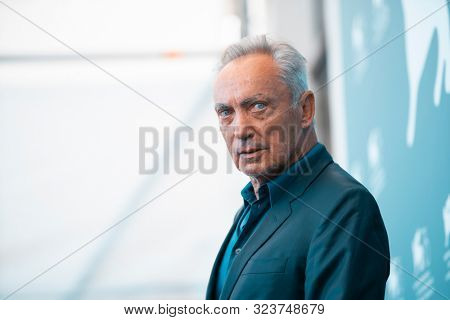 Udo Kier attends 'The Painted Bird' photocall during the 76th Venice Film Festival on September 03, 2019 in Venice, Italy.
