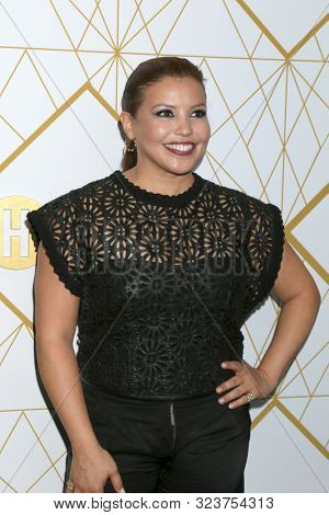 LOS ANGELES - SEP 21:  Justina Machado at the Showtime Emmy Eve Party at the San Vicente Bungalows on September 21, 2019 in West Hollywood, CA