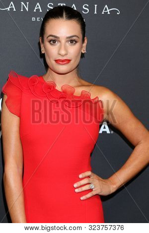 LOS ANGELES - SEP 20:  Lea Michele at the Hollywood Reporter & SAG-AFTRA 3rd Annual Emmy Nominees Night  at the Avra Beverly Hills on September 20, 2019 in Beverly Hills, CA