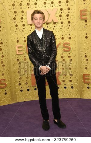 LOS ANGELES - SEP 22:  Parker Bates at the Primetime Emmy Awards - Arrivals at the Microsoft Theater on September 22, 2019 in Los Angeles, CA