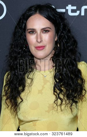 LOS ANGELES - SEP 19:  Rumer Willis at the Audi Celebrates The 71st Emmys at the Sunset Towers on September 19, 2019 in West Hollywood, CA