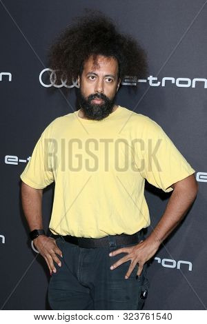 LOS ANGELES - SEP 19:  Reggie Watts at the Audi Celebrates The 71st Emmys at the Sunset Towers on September 19, 2019 in West Hollywood, CA