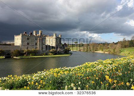 Leeds Castle In Kent, United Kingdom