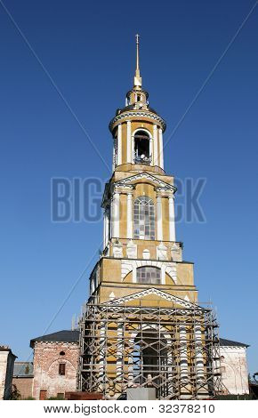 Bell tower in Suzdal Russia