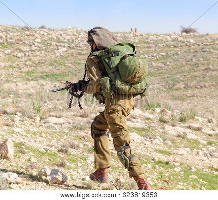 Israeli Soldiers Training, IDF -  Israeli army military combat training,