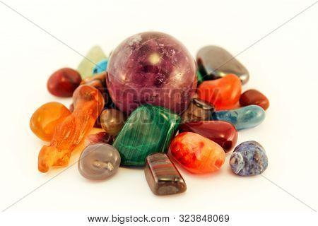 Semi Precious Stones / Crystal Stone Types / Healing Stones, Worry Stones, Palm Stones, Ponder Stone