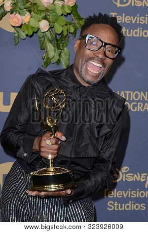 LOS ANGELES - SEP 22:  Billy Porter at the Walt Disney Television Emmy Party at the Otium on September 22, 2019 in Los Angeles, CA