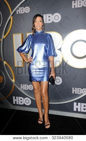 Terri Seymour at the HBO's Official 2019 Emmy After Party held at the Pacific Design Center in West Hollywood, USA on September 22, 2019.