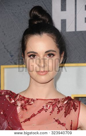 Vanessa Marano at the HBO's Official 2019 Emmy After Party held at the Pacific Design Center in West Hollywood, USA on September 22, 2019.
