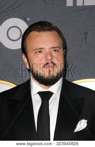 John Bradley at the HBO's Official 2019 Emmy After Party held at the Pacific Design Center in West Hollywood, USA on September 22, 2019.