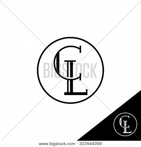 Creative Modern Elegant Trendy Unique Artistic Cl Initial Based Letter Icon Logo, Cl Letter Vector L