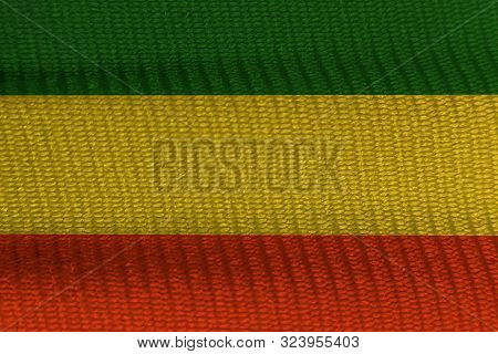 Green Yellow Red On Canvas Texture,reggae Background