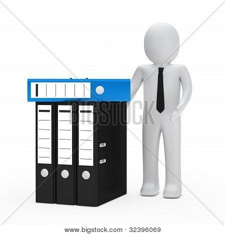 Businessman Folder