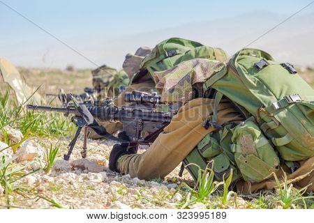 Israeli Soldiers Training, IDF -  Israeli army military combat training