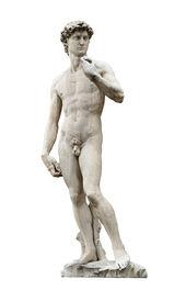 Michelangelo'S David Cutout