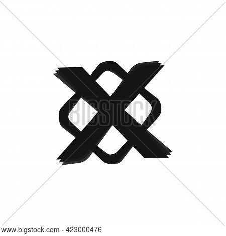 Extreme Sport Sign Icon, Extreme Logo. Vector Illustration Eps 10