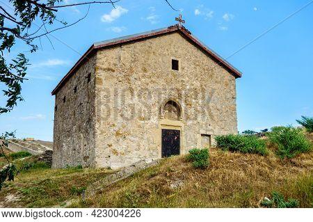 Building Of Medieval Greek Church Of St Demetrius Of Thessaloniki Inside Genoese Fortress, Feodosia,