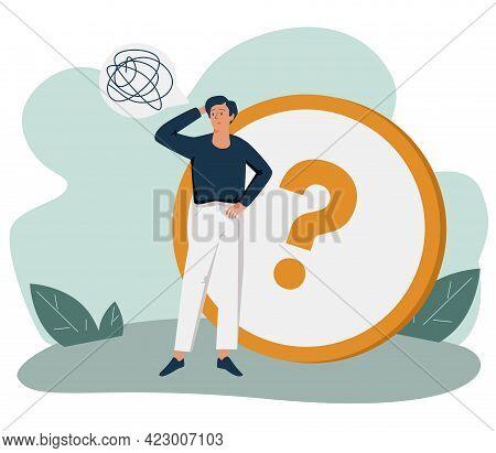 Info Center, Customer Online Communication Web Icon. Helpdesk, Clients Assistance, Helpful Informati