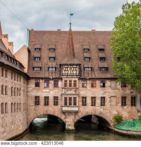 Hospice of the Holy Spirit (Heilig-Geist-Spital) in Nuremberg, Germany
