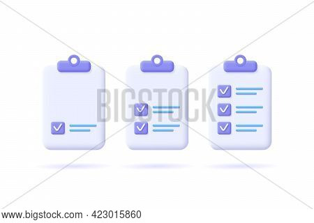 Task Management Check List, Efficient Work, Project Plan, Fast Progress, Level Up Concept, Assignmen