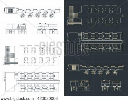 Self Propelled Modular Transporter Blueprints