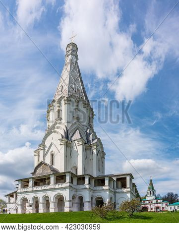 Church Of The Ascension In Kolomenskoye, Moscow, Russia. Unesco World Heritage Site, Since 1994