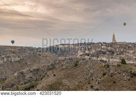 UNESCO site - ancient town of Matera (Sassi di Matera) Basilicata, Southern Italy
