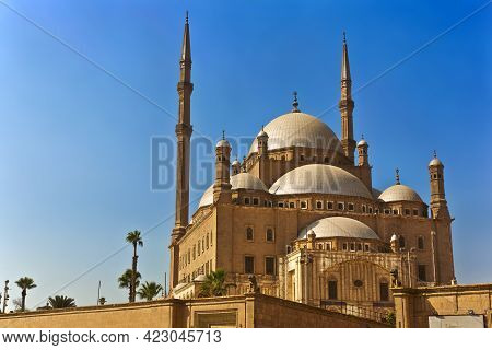 Egypt. Cairo. The Saladin Citadel - The Mosque Of Muhammad Ali (or Mohamed Ali Pasha, Also Known As
