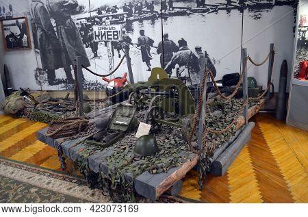 Museum of battle for Kiev in 1943. June 6, 2021. Novie Petrovtsy.Kiev region. Ukraine