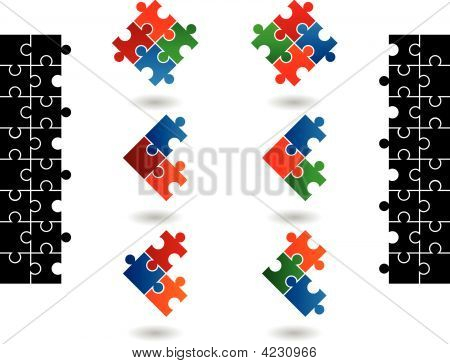 Jigsaw Puzzle Icons