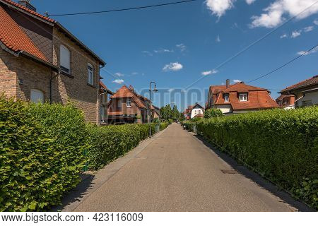 Houses Of The Former Workers Settlement Colonie, Frankfurt-zeilsheim, Germany